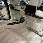 Mercedes Maybach S500 legroom at the 2015 Chengdu Motor Show