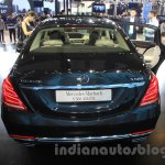 Mercedes Maybach S500 rear at the 2015 Chengdu Motor Show