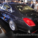 Mercedes Maybach S500 rear quarter at the 2015 Chengdu Motor Show