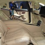 Mercedes Maybach S500 rear seats at the 2015 Chengdu Motor Show