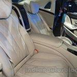 Mercedes Maybach S500 seats at the 2015 Chengdu Motor Show