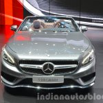 Mercedes S 500 Cabriolet front at the IAA 2015