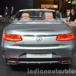 Mercedes S 500 Cabriolet rear at the IAA 2015