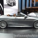Mercedes S 500 Cabriolet side at the IAA 2015