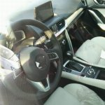 Near production version of Mazda Koeru Concept spied steering wheel