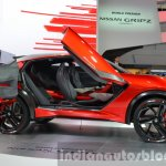 Nissan Gripz Concept door at IAA 2015