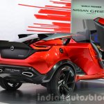 Nissan Gripz Concept rear three quarter at IAA 2015