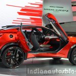 Nissan Gripz Concept rear three quarters at IAA 2015
