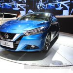 Nissan Lannia front quarters at the 2015 Chengdu Motor Show