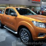 Nissan Navara NP300 front three quarter right at IAA 2015