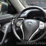 Nissan Navara NP300 steering wheel at IAA 2015