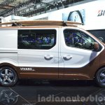 Opel Vivaro Surf Concept side profile at IAA 2015