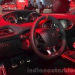 Peugeot 308 GTI interior at IAA 2015