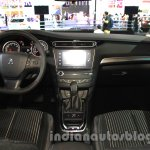 Peugeot 408 Glory Edition dashboard at the 2015 Chengdu Motor Show