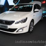 Peugeot 408 Glory Edition front quarters at the 2015 Chengdu Motor Show