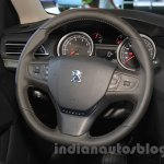 Peugeot 408 Glory Edition steering at the 2015 Chengdu Motor Show