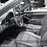 Porsche 911 Carrera Cabriolet facelift (991.2) front cabin at the IAA 2015