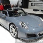 Porsche 911 Carrera Cabriolet facelift (991.2) front three quarter at the IAA 2015