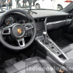 Porsche 911 Carrera Cabriolet facelift (991.2) interior at the IAA 2015
