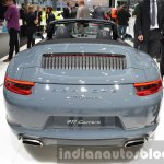 Porsche 911 Carrera Cabriolet facelift (991.2) rear at the IAA 2015