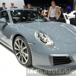 Porsche 911 Carrera facelift (991.2) front three quarter at the IAA 2015