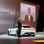 Porsche Mission E (Porsche Pajun) rear unveiled