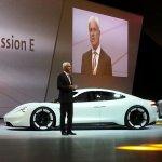 Porsche Mission E (Porsche Pajun) side unveiled