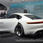Porsche Mission E at the IAA 2015