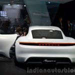 Porsche Mission E rear at the IAA 2015