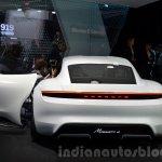 Porsche Mission E rear at the IAA 2015