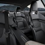 Porsche Mission E rear seats unveiled at the VAG Night