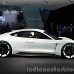 Porsche Mission E side at the IAA 2015
