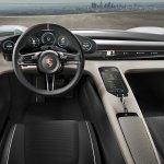 Porsche Mission E unveiled interior at the VAG Night