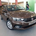 Production Fiat Aegea front spied