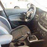 Production Fiat Aegea interior spied