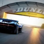 Rear end of the Bugatti Vision GT (official image)