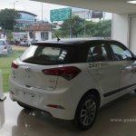 Rear three quarter of Hyundai Elite i20 Celebration Edition