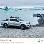 Renault Alaskan pick-up truck side unveiled