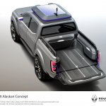 Renault Alaskan pick-up truck top view unveiled