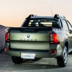 Renault Duster Oroch (Duster pick-up) rear quarter launched in Brazil