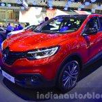 Renault Kadjar front three quarter left at IAA 2015