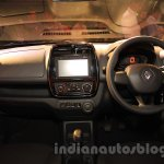 Renault Kwid interior launched India