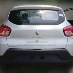 Renault Kwid rear dealer spied