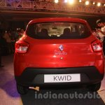 Renault Kwid rear launched India
