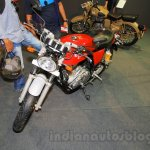 Royal Enfield Continental GT front three quarters at Nepal Auto Show 2015