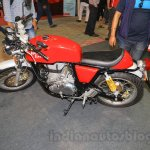 Royal Enfield Continental GT side at Nepal Auto Show 2015