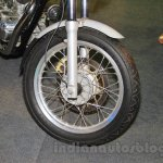 Royal Enfield Continental GT wheel at Nepal Auto Show 2015