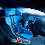 Seat of the Bugatti Vision GT (official image)