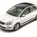 Skoda Rapid 'Anniversary Edition' front three quarter launched