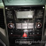 Ssangyong Tivoli center console at the 2015 Nepal Auto Show